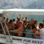 Tourist boat Kotor